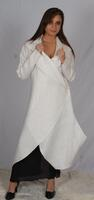 Gorgeous long linen jacket that combines style and elegance. This long jacket is perfect for any formal events.