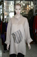 Heydari Exclusive funky top with diagonal side pocket adjustable and sleeves