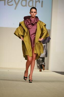 Silk Jacket Was On Of The Best Show Pic In Dubai Show